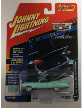Johnny Lightning 1959 Cadillac Eldorado Convertible Diecast Car