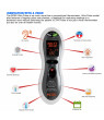 Mobi Ultra Pulse Ear & Forehead Digital Thermometer with Pulse Rate Monitor, Flashlight and Talking Readout in 3 languages