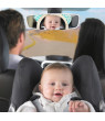 Mini Adustable Round Rear Baby Child Seat Car Safety Wide View Mirror Headrest Mount