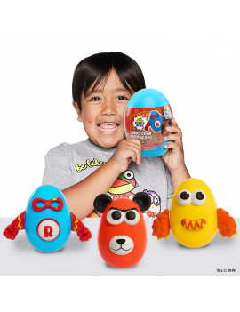 Ryan's World Combo Crew Surprise Egg, Colors May Vary, Ages 3+