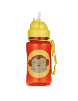 Skip Hop Zoo Lock-Top Sports Bottle, Monkey