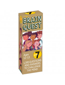Brain Quest Decks: Brain Quest Grade 7: 1,500 Questions and Answers to Challenge the Mind (Other)