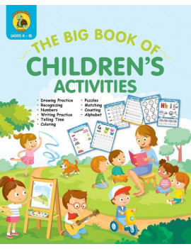 Learn & Play Kids Activity Books: The Big Book of Children's Activities (Paperback)