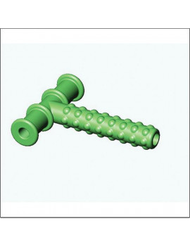 (Price/each)Knobby Green Chewy Tube