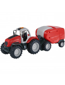 Adventure Force Farm Works Motorized Vehicle, Tractor with Baler