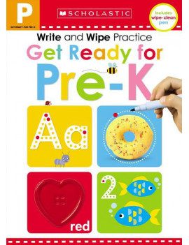 Scholastic Early Learners: Get Ready for Pre-K Write and Wipe Practice: Scholastic Early Learners (Write and Wipe) (Board Book)