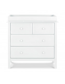 Autumn 4-Drawer Dresser in White