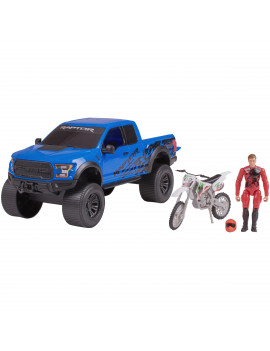 Adventure Force Outdoor Adventure Vehicle Set, Blue Ford Raptor
