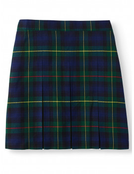 Wonder Nation Girls School Uniform Plaid Parochial Skirt, Sizes 4-16