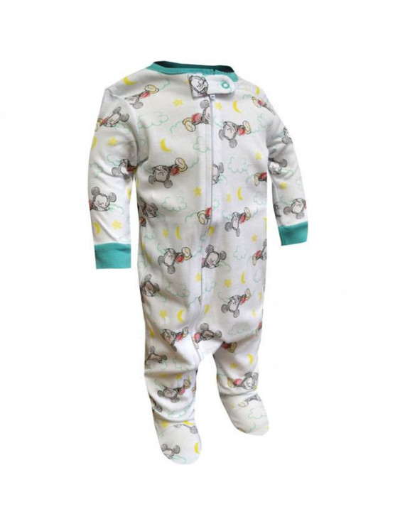 Mickey Mouse 794355-3-6 Months-3-6 Months Disney Mickey Mouse Sleeping Baby Bodysuit - 3-6 Months
