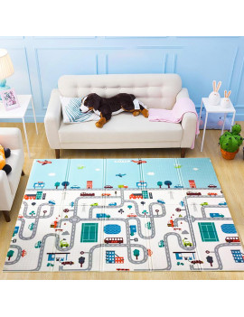 1.8*2 M/ 1.5*2 M Foldable Baby Play Mat Xpe Puzzle Mat Educational Children's Carpet in the Nursery Climbing Pad Kids Rug Activitys Games Toys