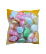 Outtop 30pcs Squishy Slow Rising Cartoon Doll Soft Cream Scented Stress Relief Toy Key