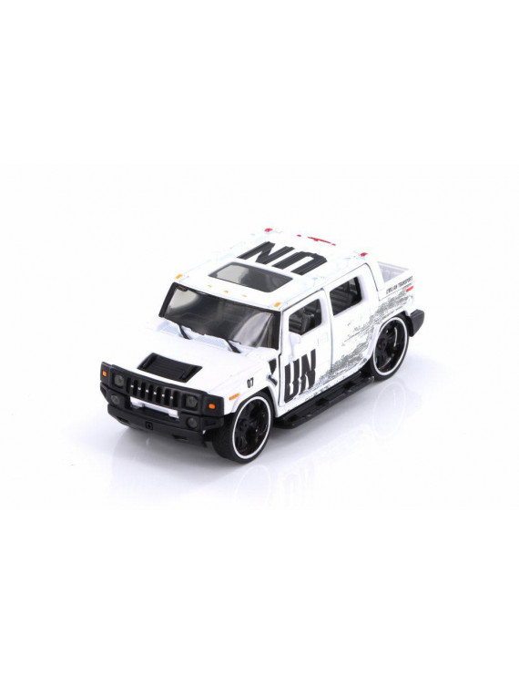 Hummer H2 SUT, White - Phoenix 58005D - 1/35 scale Diecast Model Toy Car (Brand New but NO BOX)