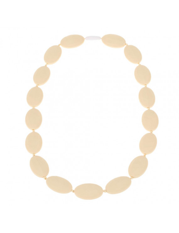 100% Food Grade Silicone Teething Necklace Soft Beads for Chew Baby Toddler Nursing Jewelry Toy for Mom to Wear BPA Free EN71 F963 FDA Certificate