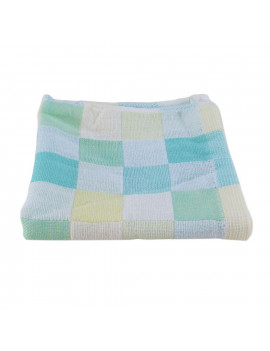 10Pack Square Towels Cotton gauze Plaid Towel Kids Bibs Daily Use Hand Face Towels for Kids 28*28cm
