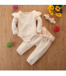 3pcs Newborn Baby Boy Girls Christmas Rompers Jumpsuit Clothes Playsuit Outfits