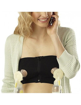 Medela Easy Expression Hands-Free Bustier Black Medium