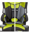 Baby Trend Inc. Hybrid LX 3-in-1 Harness Booster Car Seat, Kiwi