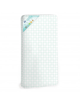 Sealy 2-in-1 Baby Ultra Rest 2-Stage Crib and Toddler Mattress, Airy Comfort, Waterproof