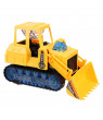 Electric Bulldozer Bump Toy Car Tractor Excavator With Light Sound Kid Gift