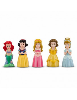 disney junior snow white cinderella aurora ariel belle bath toy set new with bag