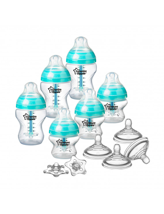 Tommee Tippee Advanced Anti-Colic Newborn Baby Bottle Set