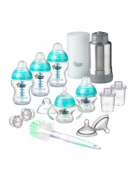 Tommee Tippee Advanced Anti Colic Newborn Baby Bottle Feeding Gift Set