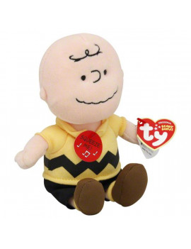 TY Beanie Baby - CHARLIE BROWN ( Plays Music ) (8 inch)