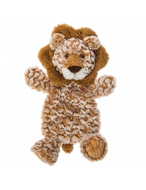 Afrique Lovey Soft Toy, Lion, Afrique Lion Lovey is an ultra-soft cuddle toy with brown textured fabric and embroidered face details By Mary Meyer
