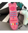 Bluelans Baby Simulation TV Remote Control Kids Educational Music English Learning Toy