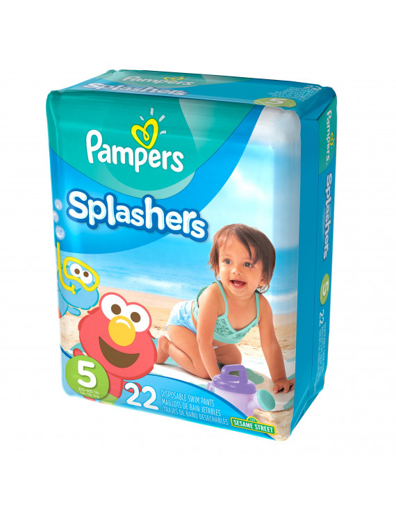 Pampers Splashers Swim Diapers Size 5 22 count