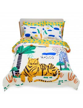 Jungle Tiger Complete Bedding Set by Drew Barrymore Flower Kids