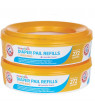 Munchkin Arm and Hammer Diaper Pail Refill Rings, 272 count, Pack of 2. Total of 544 count.