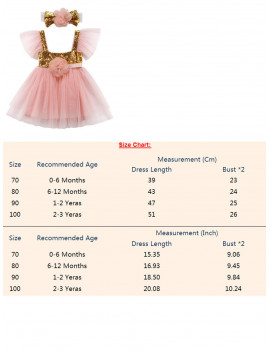 Awoscut Infant Baby Girl 1st Birthday Princess Dress Outfit Cake Smash Party Tutu Skirt