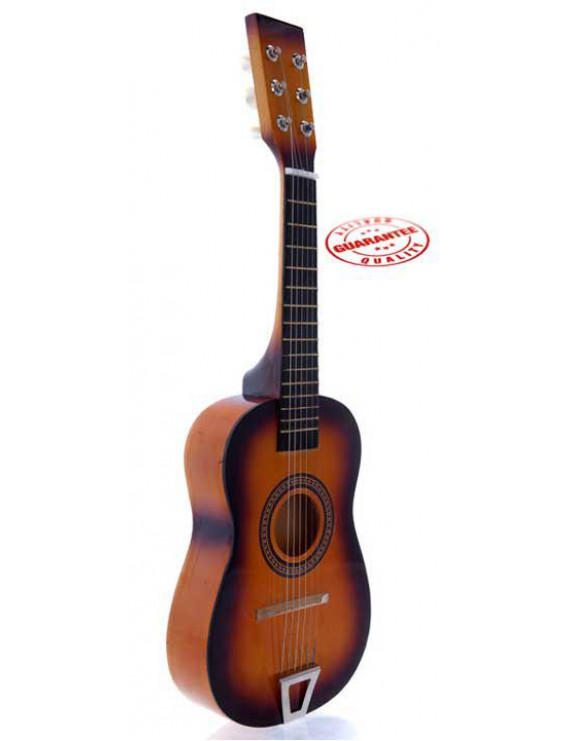 Star Kids Acoustic Toy Guitar 23 Inches Sunburst Color