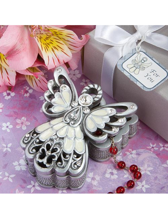 Fashioncraft Angel Design Trinket Box (Discontinued by Manufacturer)