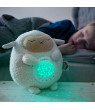 Baby White Noise Machine Music soothers for Sleep: Lumipets Night Light Projector and Sound Machine Lamb Stuffed Animal