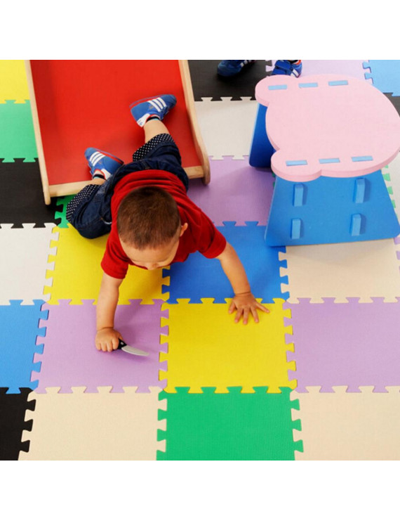 Miodk 30x30cm 10Pcs/Set EVA Foam Baby Kids Home Exercise Gym Antislip Play Floor Mat