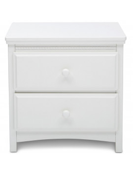Delta Children Waverly Nightstand, Bianca White