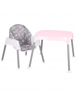 Evenflo 4-in-1 Eat & Grow Convertible High Chair, Poppy