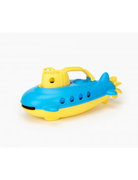 Green Toys Submarine Bath Toy, Yellow Cabin