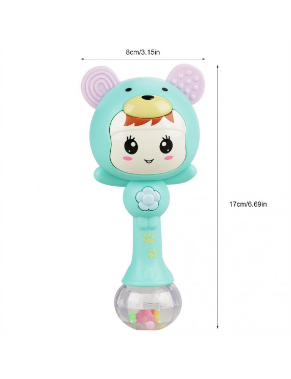 Ejoyous Educational Baby Electronic Music Rattle Cute Cartoon Infant Shaking Hand Bells, Shaking Rattle Toys