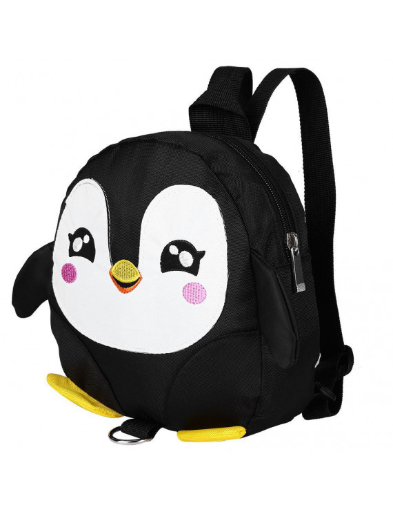 WALFRONT Cute Cartoon Penguin Baby Safety Harness anfd Backpack Toddler Anti-lost Bag Children Schoolbag, Toddler Anti-lost Bag