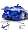 LNKOO Remote Control Cars, Electric Toy RC Cars on the Wall, Dual Mode Race Car for Floor or Wall, 360°Rotating Stunt + LED Lights - Best Gift for Kids and Adults 3-16 Year Old