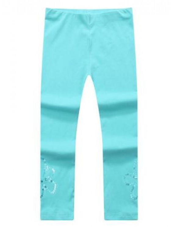 Richie House Girls' leggings with sequins RH1042