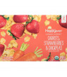 (8 Pouches) Happy Baby Clearly Crafted, Stage 2, Organic Baby Food, Carrots, Strawberries & Chickpeas, 4 Oz