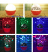 Baby Night Light Moon Star Projector 360 Degree Rotation , 4 LED Bulbs 9 Light Color Changing , Great Gifts for Kids Best Baby