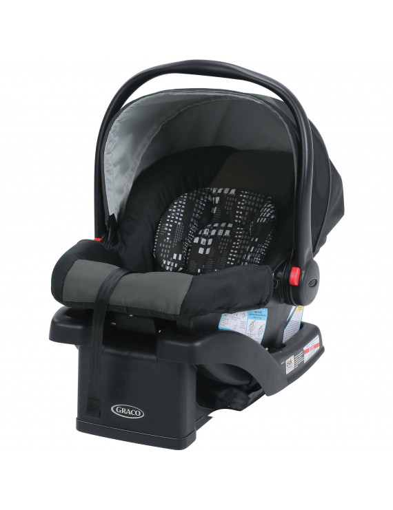 Graco SnugRide Click Connect 30 Infant Car Seat, NYC Black