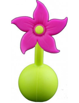 Haakaa Silicone Flower Stopper Purple