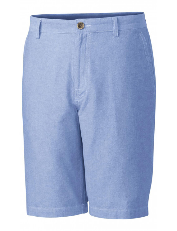 Cutter & Buck Men's Big and Tall Bristol Oxford Short, Hampstead Blue - 44T